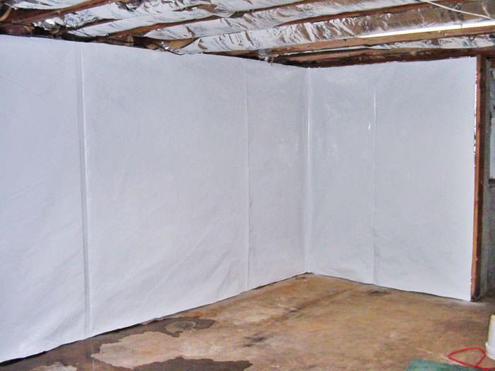 basement wall vapor barrier system in toronto markham